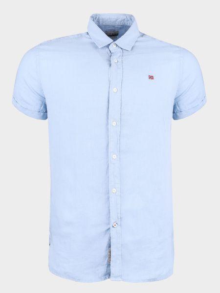 Рубашка с коротким рукавом мужские Napapijri модель ZS2097 цена, 2017