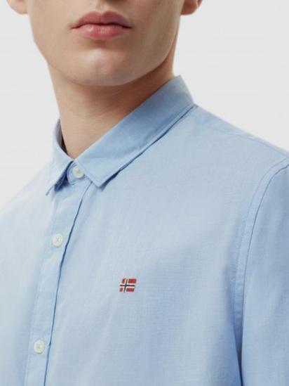 Сорочка з довгим рукавом Napapijri Giulian модель N0YIJBM02 — фото 3 - INTERTOP