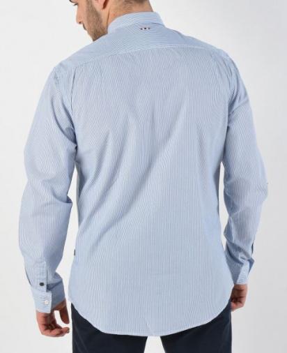 Сорочка з довгим рукавом Napapijri модель N0YIJBS02 — фото 2 - INTERTOP