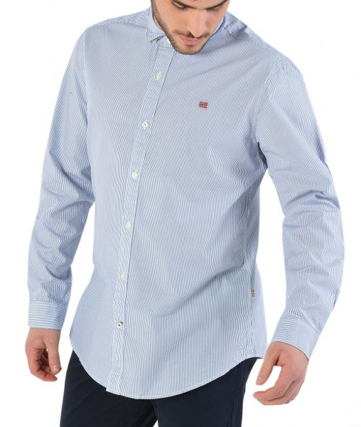 Рубашка с длинным рукавом мужские Napapijri модель ZS2212 , 2017