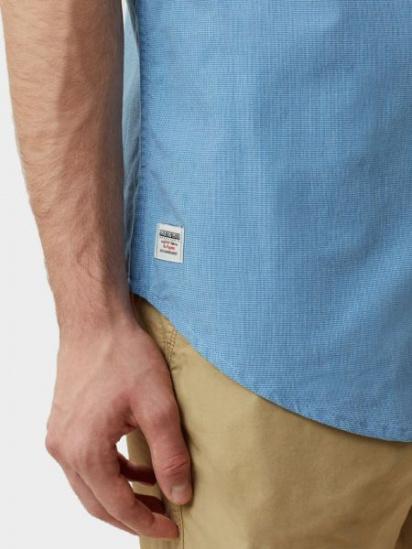 Сорочка з коротким рукавом Napapijri GIULIAN STRIPE модель N0YILCS02 — фото 8 - INTERTOP