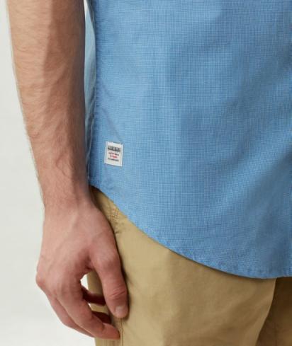 Сорочка з коротким рукавом Napapijri GIULIAN STRIPE модель N0YILCS02 — фото 9 - INTERTOP