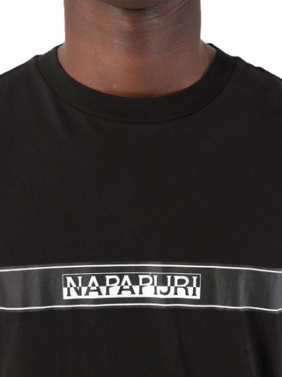 Футболка Napapijri модель N0YKCE041 — фото 3 - INTERTOP