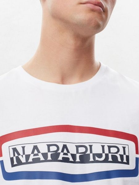 Футболка мужские Napapijri модель ZS2438 отзывы, 2017