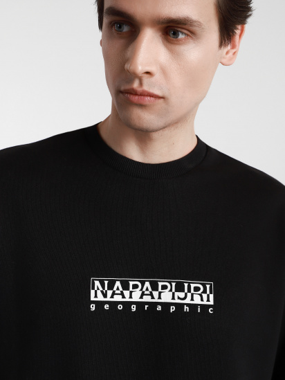 Світшот Napapijri Sweatshirt Box модель NP0A4F5A0411 — фото 5 - INTERTOP
