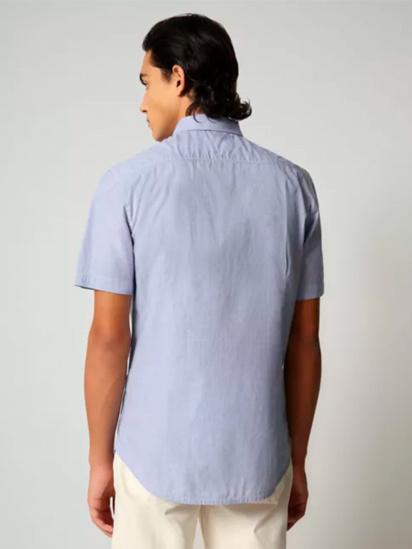 Сорочка з коротким рукавом Napapijri Ging модель NP0A4F888M21 — фото 2 - INTERTOP