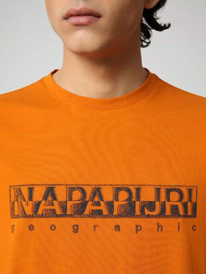 Футболка Napapijri Sallar модель NP0A4F9OA581 — фото 3 - INTERTOP
