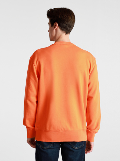 Світшот Napapijri Sweatshirt Patch модель NP0A4FF7A1A1 — фото 4 - INTERTOP