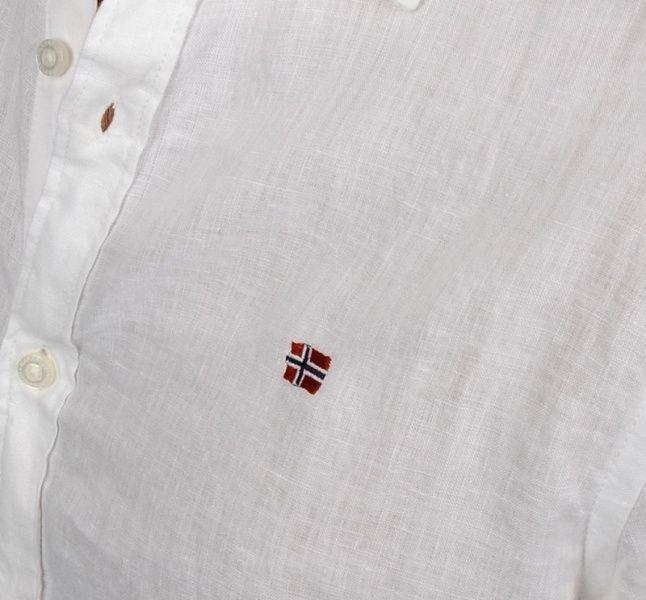 Рубашка с длинным рукавом мужские Napapijri модель ZS641 , 2017