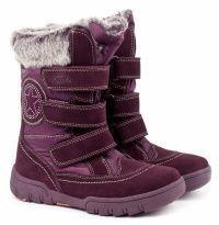 Бордовые ботинки Для девочек, фото, intertop