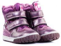 Фиолетовые ботинки Для девочек, фото, intertop