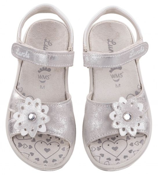 Босоножки детские Lurchi ZT233 размерная сетка обуви, 2017