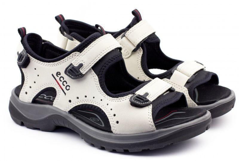 жіночі сандалі ecco offroad 69533(217) шкіряні