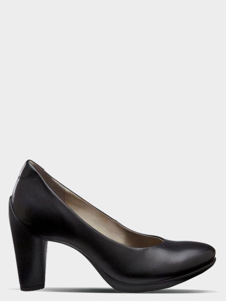 жіночі туфлі ecco sculptured 75 242603(01001) шкіряні