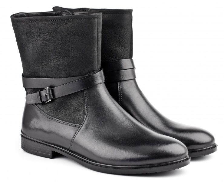 жіночі черевики ecco touch 15 b 261633(51052) шкіряні