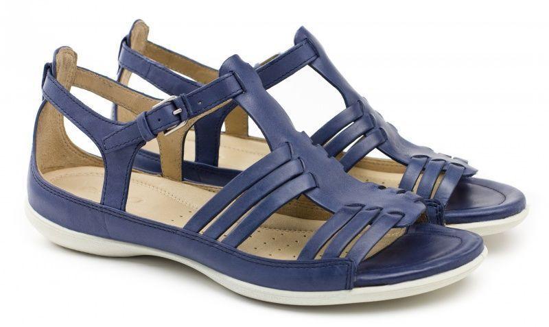 жіночі сандалі ecco flash 240743(02086) шкіряні