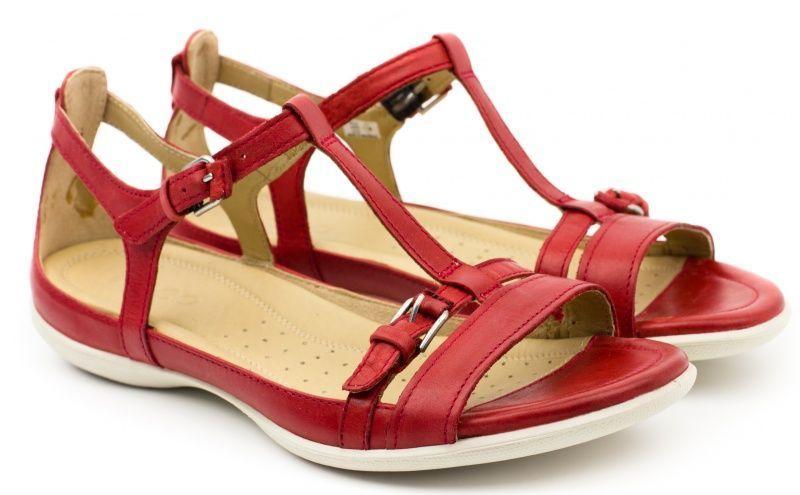 жіночі сандалі ecco flash 240783(01065) шкіряні