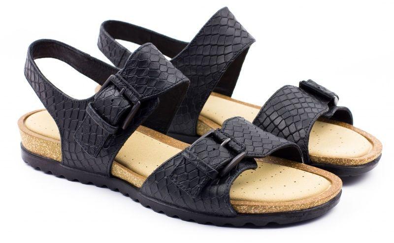 жіночі сандалі ecco dagmar 247103(01001) шкіряні