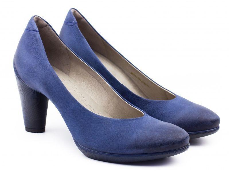 жіночі туфлі ecco sculptured 75 242603(02048) шкіряні