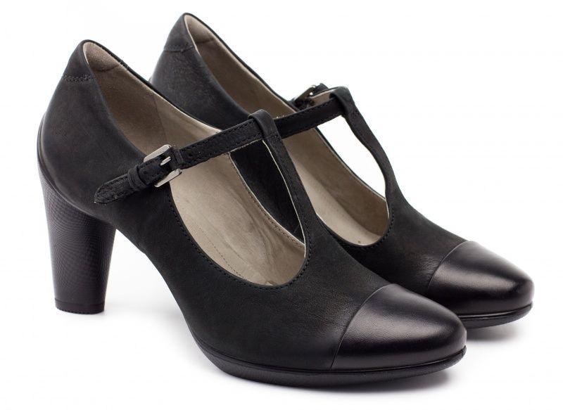 жіночі туфлі ecco sculptured 75 242743(51052) шкіряні