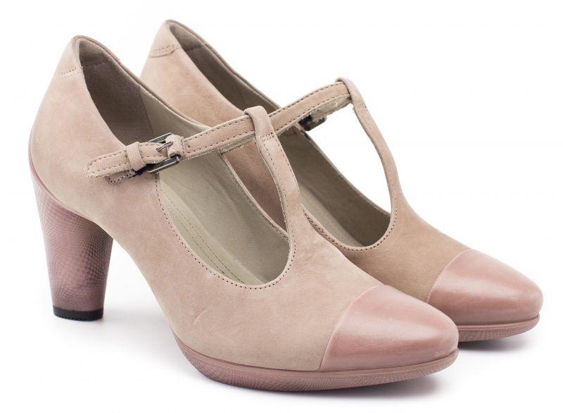 жіночі туфлі ecco sculptured 75 242743(56878) шкіряні