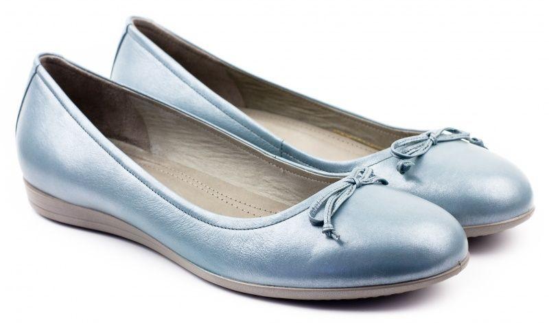 жіночі балетки ecco touch 15 260013(02287) шкіряні
