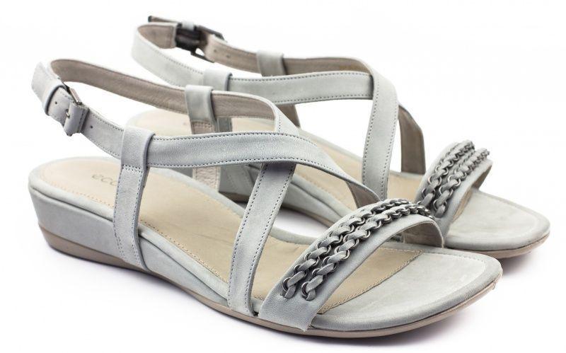 жіночі сандалі ecco touch 25 s 262083(02539) шкіряні