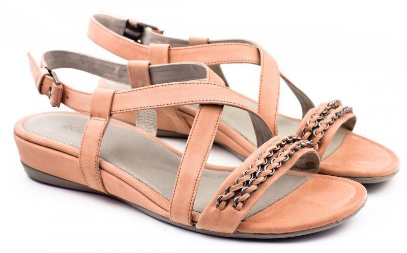 жіночі сандалі ecco touch 25 s 262083(57349) шкіряні