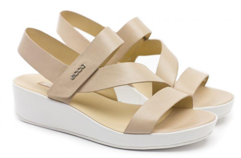 жіночі сандалі ecco tabora 45 330433(01009) шкіряні