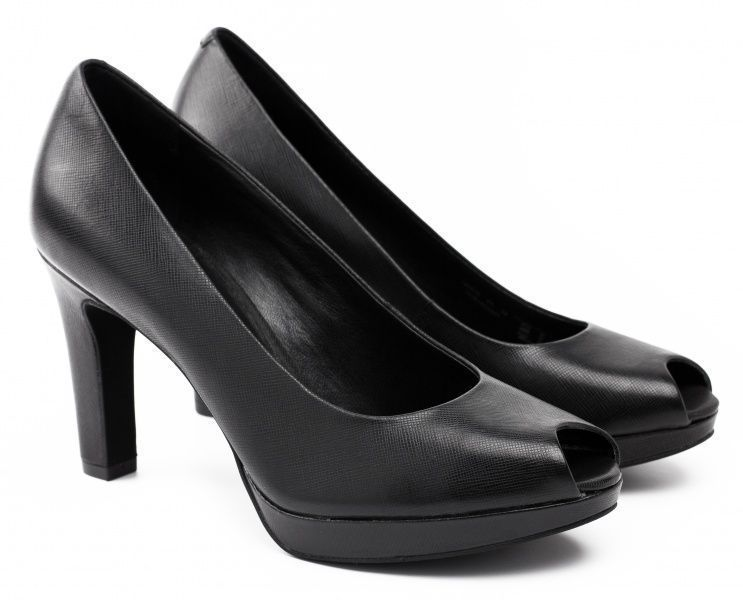 жіночі туфлі ecco tunis 351853(01001) шкіряні