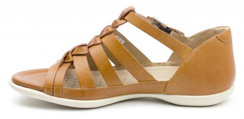 жіночі сандалі ecco flash ZW5053 шкіряні фото 2