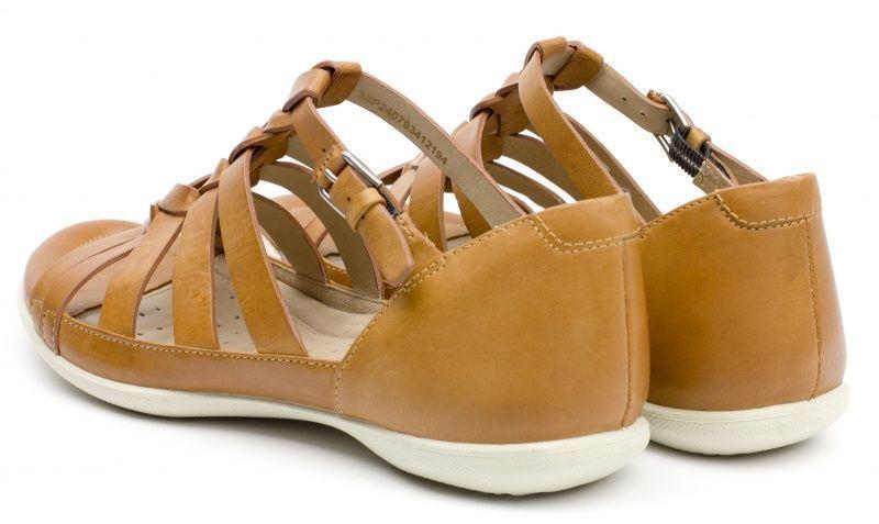 жіночі сандалі ecco flash ZW5053 шкіряні фото 4