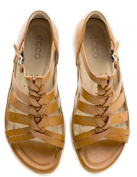жіночі сандалі ecco flash ZW5053 шкіряні фото 5