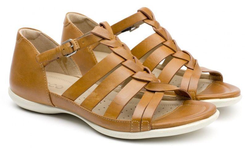 жіночі сандалі ecco flash ZW5053 шкіряні