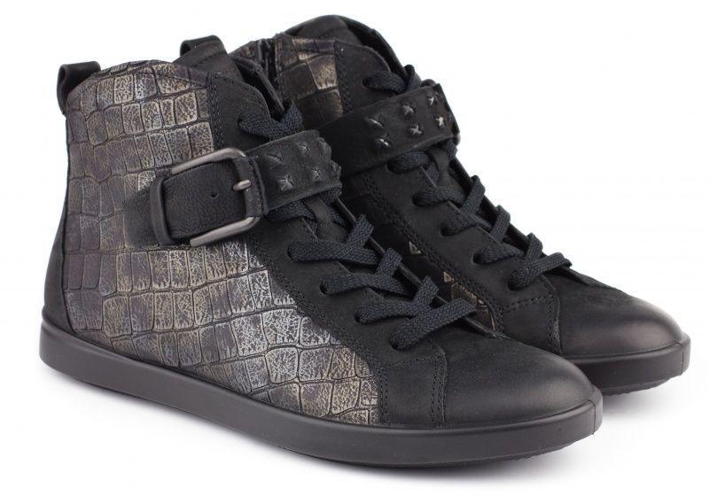 жіночі черевики ecco aimee 241483(58165) нубукові