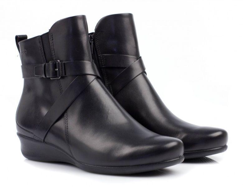 жіночі черевики ecco abelone 213763(01001) шкіряні