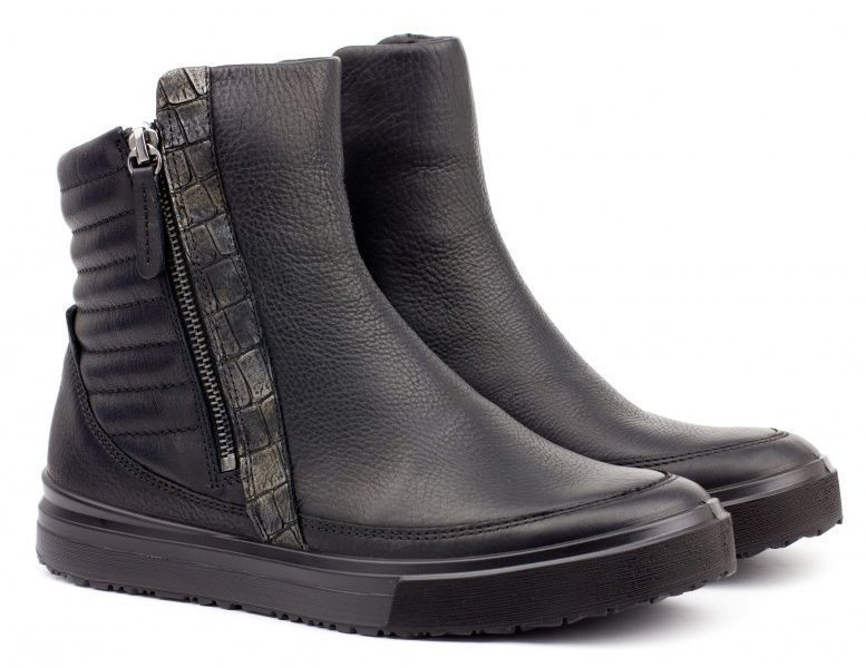 жіночі черевики ecco cleo 233223(53994) нубукові