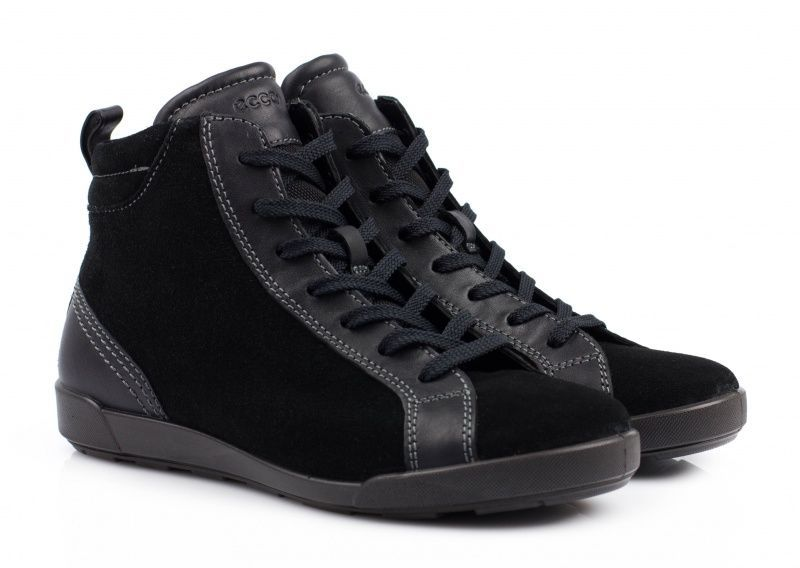 жіночі черевики ecco crisp ii 214593(51052) шкіряні