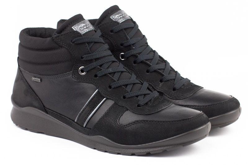 жіночі черевики ecco mobile iii 215053(59217) шкіряні