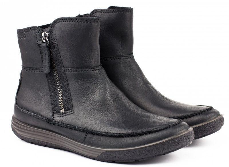 жіночі черевики ecco chase ii 236853(02001) нубукові