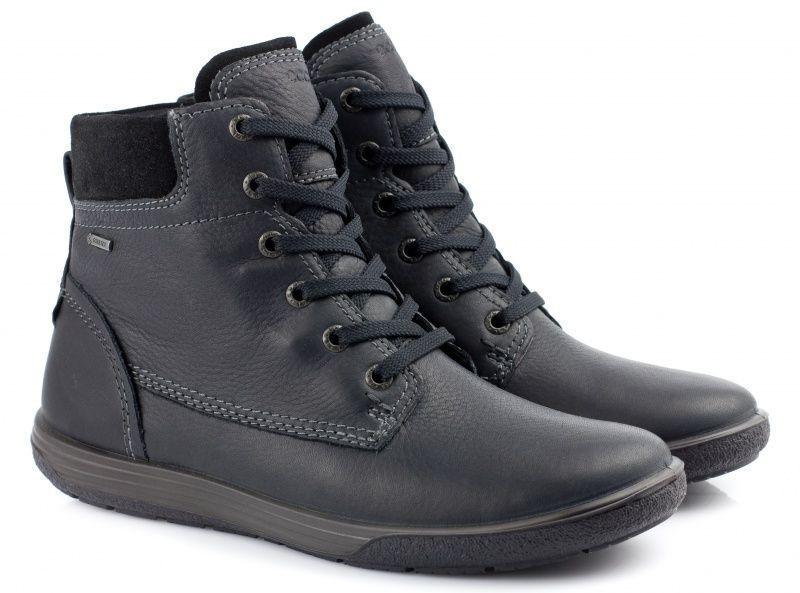жіночі черевики ecco chase ii 236863(51052) нубукові