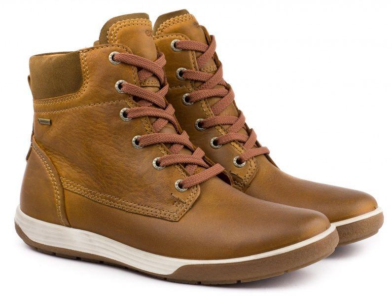 Ботинки для женщин ECCO CHASE II ZW5079 брендовая обувь, 2017