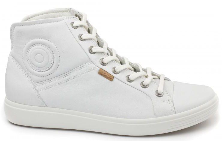 жіночі черевики ecco soft 7 430023(01007) шкіряні