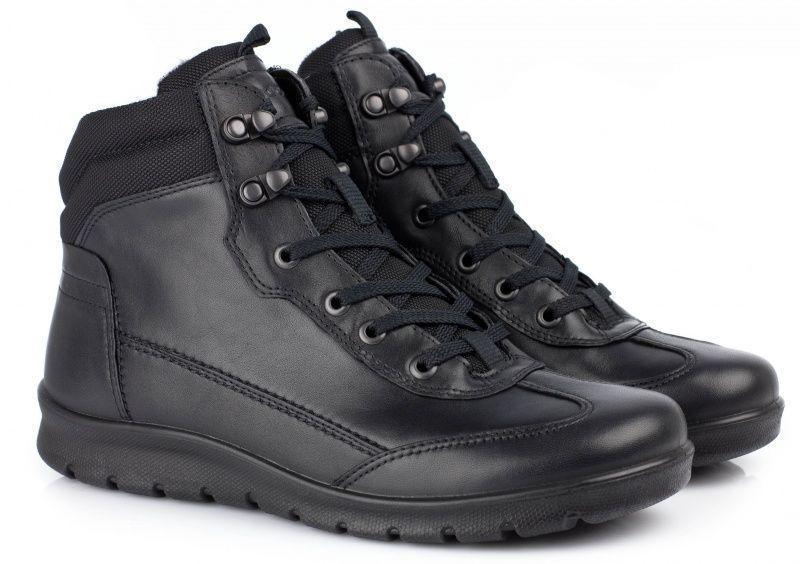 жіночі черевики ecco babett boot 215513(51707) шкіряні/текстильні