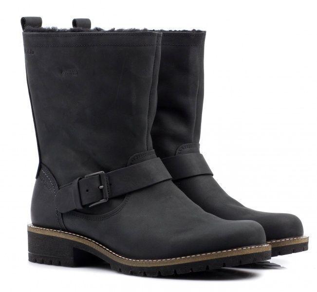 жіночі черевики ecco elaine 244643(02001) нубукові