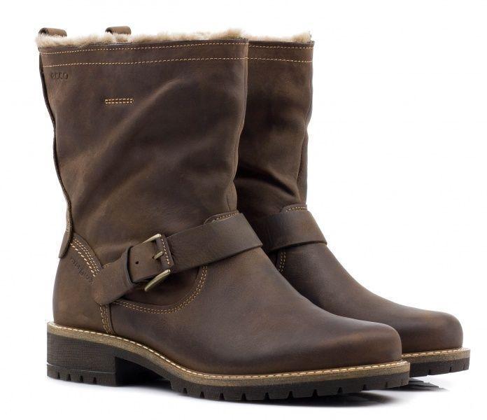 жіночі черевики ecco elaine 244643(02482) нубукові