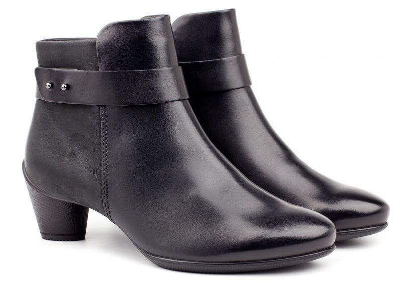 жіночі черевики ecco sculptured 45 230373(51707) шкіряні