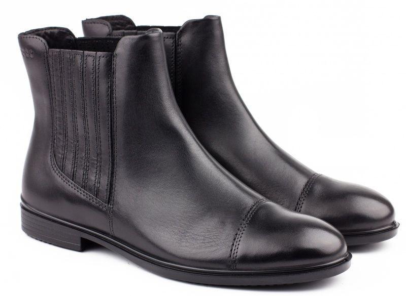 жіночі черевики ecco touch 15 b 261743(01001) шкіряні