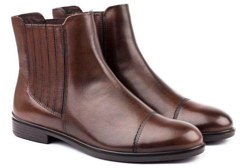 жіночі черевики ecco touch 15 b 261743(01014) шкіряні
