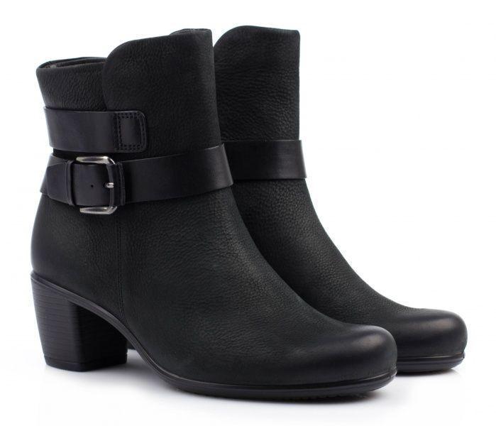 жіночі черевики ecco touch 55 b ZW5108 нубукові
